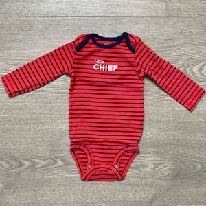 Carter's One Pieces - Carter's Firefighter 2 Pack Onesies 6M